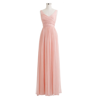 Heidi gown in silk chiffon