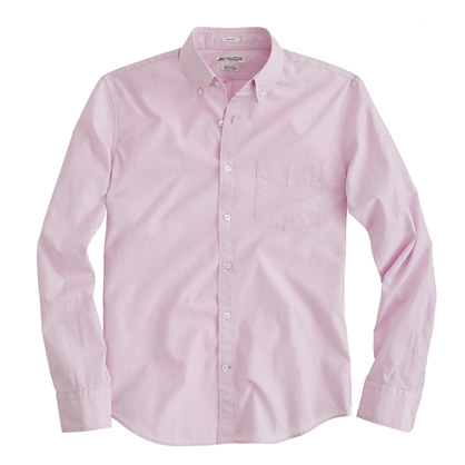 Thomas Mason® for J.Crew slim end-on-end shirt