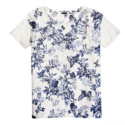 Midnight floral tee