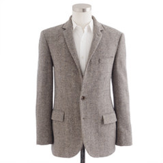 Ludlow sportcoat in herringbone English wool