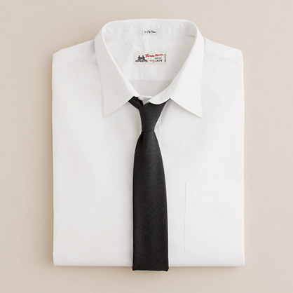 Thomas Mason® for J.Crew point-collar dress shirt in white