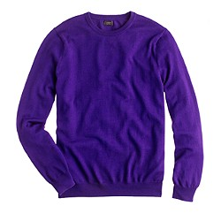 Tall merino crewneck sweater