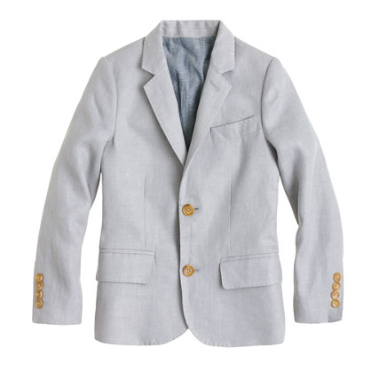Boys' Ludlow suit jacket in linen