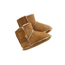 Minnetonka® baby shearling booties