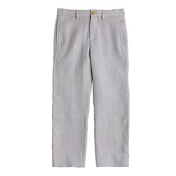 Boys' Ludlow suit pant in linen