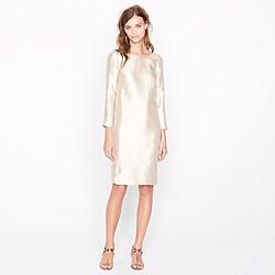Collection organza sheath dress