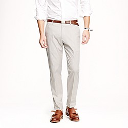 Ludlow classic suit pant in fine-stripe cotton
