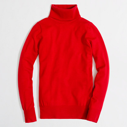 Factory merino turtleneck sweater