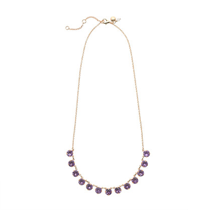 Girls' dazzling jewels necklace
