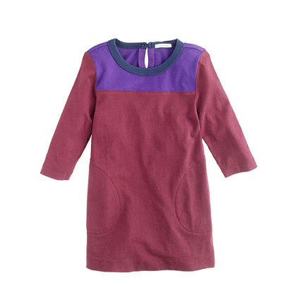 Girls' colorblock tunic