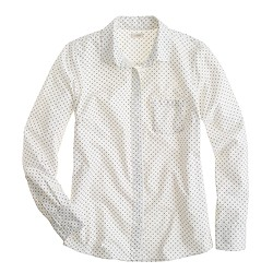 Pre-order oxford boy shirt in polka dot