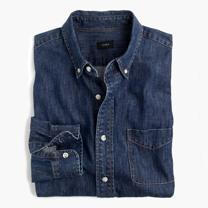 Midweight denim shirt