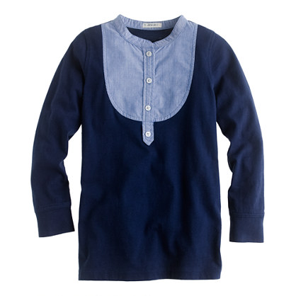 Girls' bib tunic