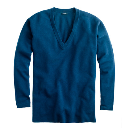 Oversize merino pocket sweater