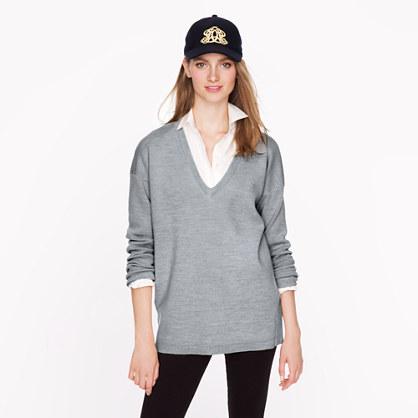 Oversize merino sweater