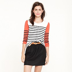 Colorblock stripe top