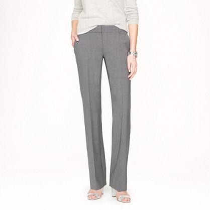 Petite 1035 pant in stretch wool