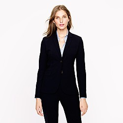 Petite 1035 jacket in stretch wool