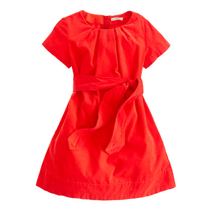 Girls' softest cord dress