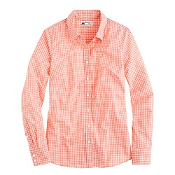 Perfect shirt in open check Thomas Mason® fabric