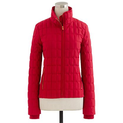 Snowcap quilted jacket