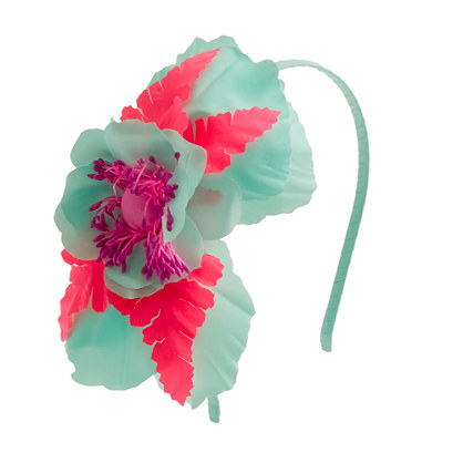 Girls' lotus blossom headband