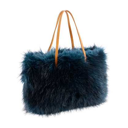 Girls' fur tote