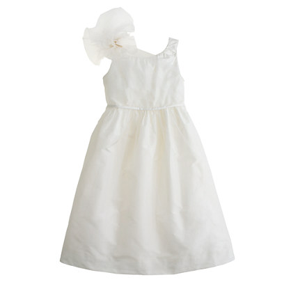 Girls' silk taffeta Emery dress