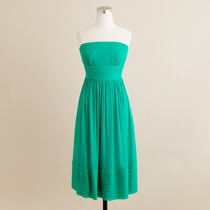 Petite Juliet dress in silk chiffon