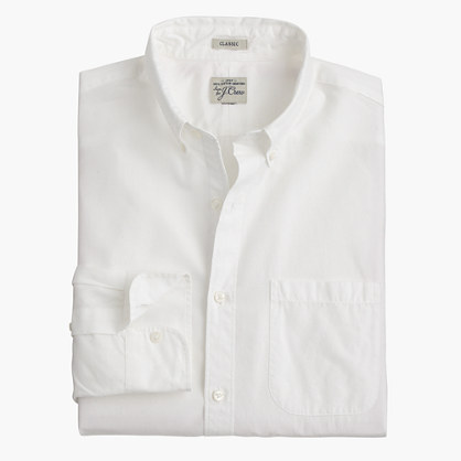Slim Secret Wash button-down collar shirt