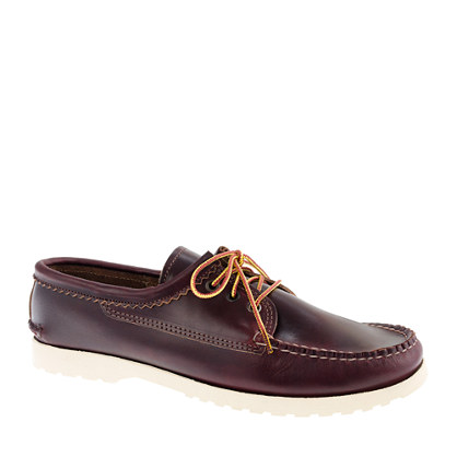Men's Quoddy® for J.Crew Chromexcel bluchers in burgundy