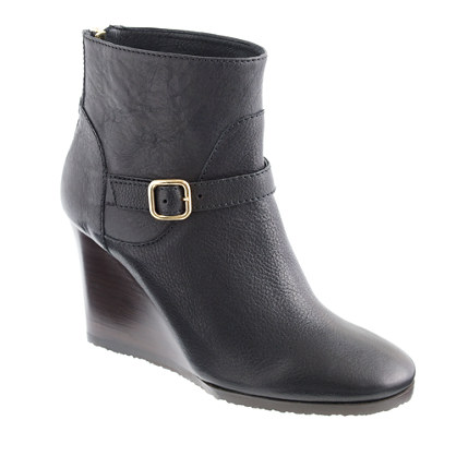 Emmett wedge ankle boots