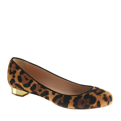 Collection Janey calf hair flats - flats - Women's shoes - J.Crew