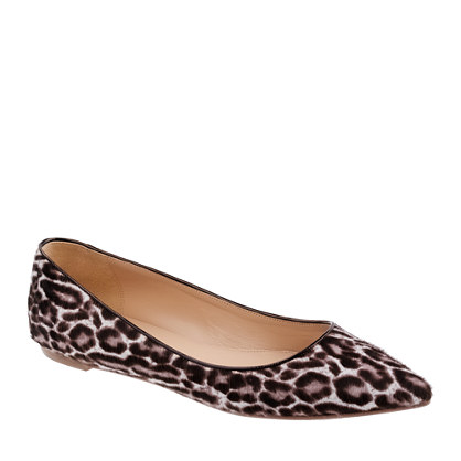 Collection Viv calf hair flats - flats - Women's shoes - J.Crew :  collection viv calf hair flats womens shoes flats