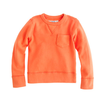 Boys' french terry sweatshirt