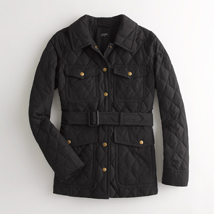 Factory lightweight quilted jacket