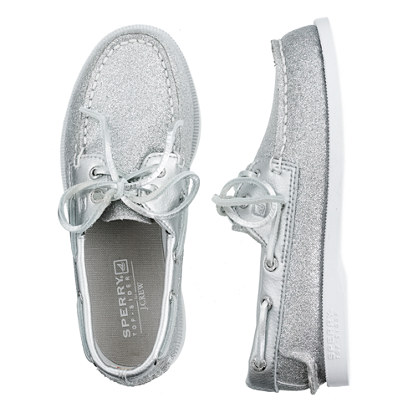 Girls' Sperry Top-Sider® Authentic Original glitter boat shoes