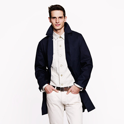Mackintosh® Duncan coat in navy