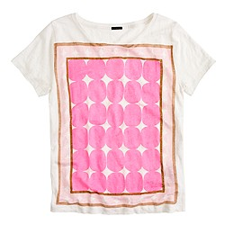 Pop art dot tee