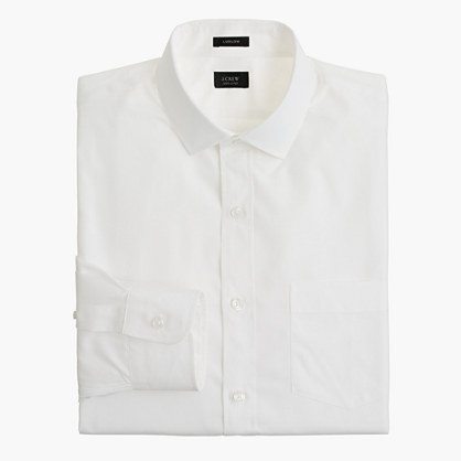 Ludlow spread-collar shirt in solid