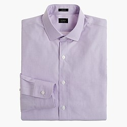 Ludlow spread-collar shirt in end-on-end