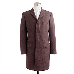 Mayfair topcoat in English wool