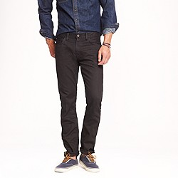 484 jean in garment-dyed black