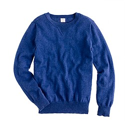 Boys' cotton-cashmere sweatshirt