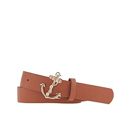Anchor buckle belt