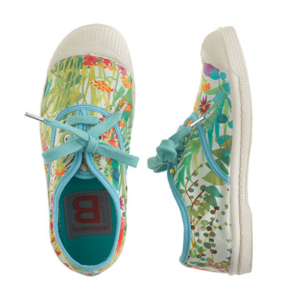 bensimon 174 elly tennis shoes in liberty tresco