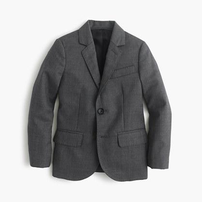 Boys' Ludlow suit jacket in Italian worsted wool