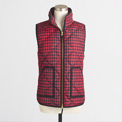 Novelty Quilted Puffer Vest Outerwear J Crew Factory