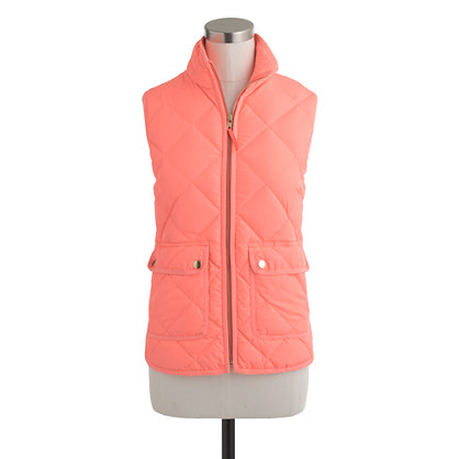 Excursion Quilted Vest Outerwear J Crew