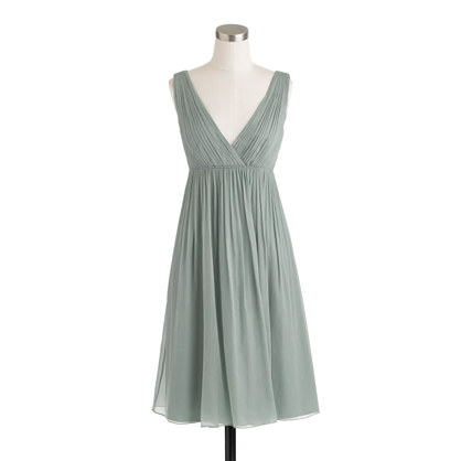 Brigitte dress in silk chiffon